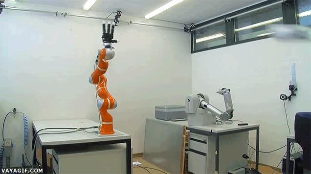 Enlace a Robot ultra-rápido capaz de atrapar objetos al vuelo en 2 milisegundos