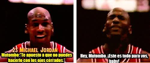 Enlace a Mítico tiro libre de Michael Jordan