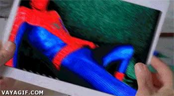 Enlace a ¿Qué tal las fotos del hombre araña?