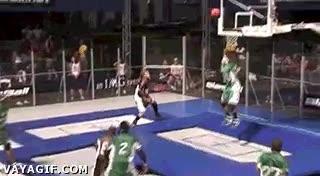 Enlace a Baloncesto ern cama elástica, mi nuevo deporte favorito