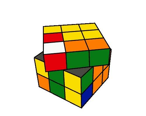 Enlace a Si nunca has conseguido resolver un cubo de Rubik, al menos mira como éste lo hace solo