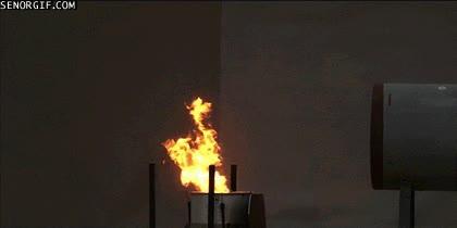 Enlace a Esto es lo que pasa cuando apagas el fuego con una ¡explosión!