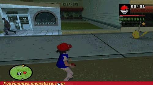 Enlace a Si unieras Pokémon y GTA...