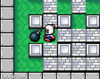 Enlace a Ese momento de rabia máxima en el Bomberman cuando...