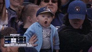 Enlace a Pequeños aficionados del baseball