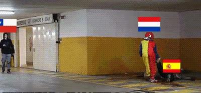 Enlace a Cuidado si te encuentras a Holanda por ahí