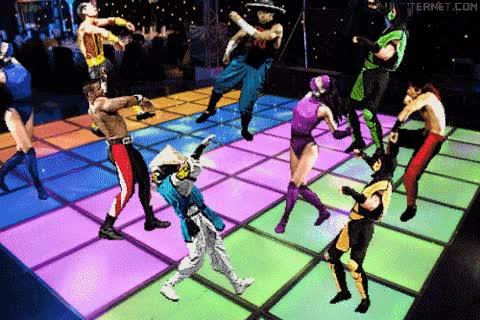 Enlace a ¡Llamad a una ambulancia, a los personajes del Mortal Kombat les está dando un ataque de epilepsia!