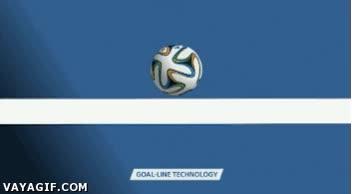 Enlace a Primer uso relevante de la tecnología de la línea de gol