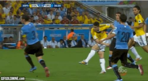 Enlace a Mejor gol del mundial por ahora, clasifica a Colombia y James es jugador revelación