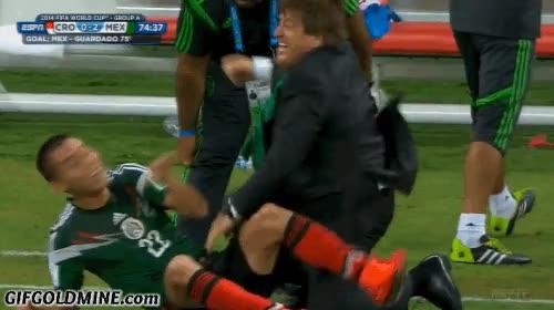 Enlace a El entrenador de Mexico tiene las mejores celebraciones del mundial