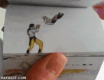 Enlace a Mortal Kombat como nunca lo habías visto