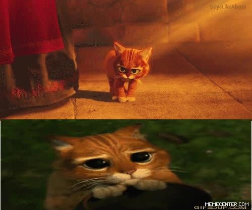 Enlace a El origen de 'El gato con botas' de Shrek