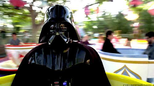 Enlace a Darth Vader no sabe divertirse
