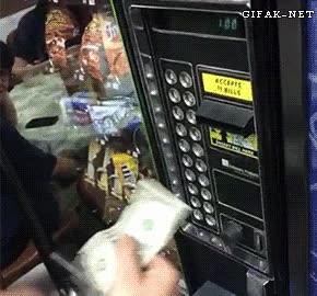 Enlace a ¿Quieres algo de la máquina expendedora? ¡Venga, que yo invito!