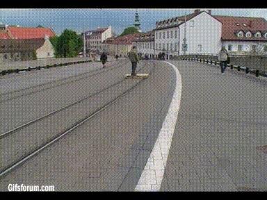 Enlace a Una creativa idea por si llegas a perder el tren