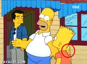Enlace a Hasta una serie inmensa como los Simpson tiene errores