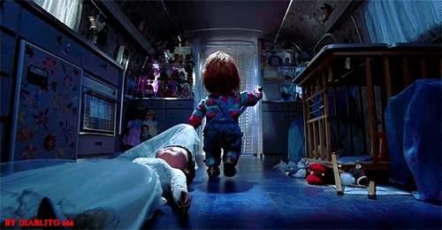 Enlace a Bonita luna de miel la de Chucky