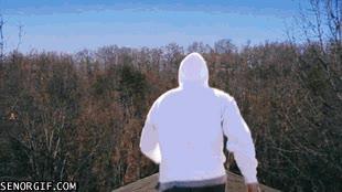 Enlace a Posible resultado al intentar un salto de fé