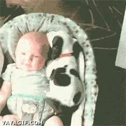 Enlace a Este bebé tiene un amiguito que no lo deja solo ni cuando duerme