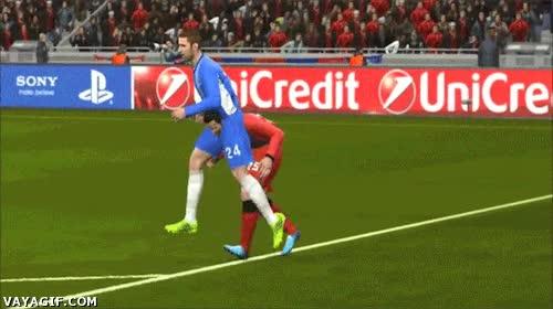 Enlace a Es muy duro ser un jugador de fútbol del FIFA