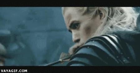 Enlace a Justin ya debería saber que con Legolas no se juega