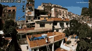 Enlace a Las favelas de Brasil a vista de dron