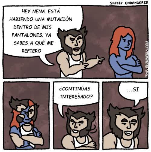Enlace a Wolverine y su extraña orientación
