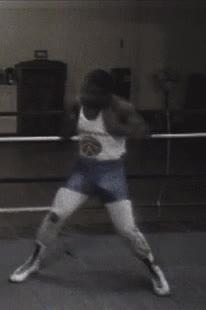 Enlace a Mike Tyson a los 15 años. Menuda bestia
