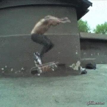 Enlace a Increíble movimiento en skate