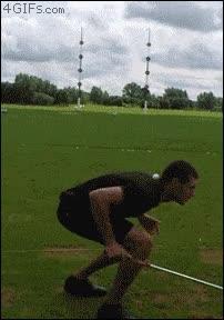 Enlace a Cuando controlas de golf y fútbol a la vez