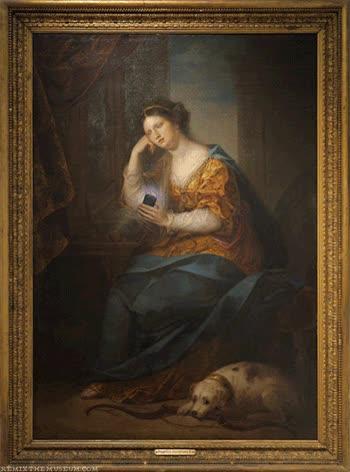 Enlace a Si hubieran existido los smartphones en la época de los grandes pintores...