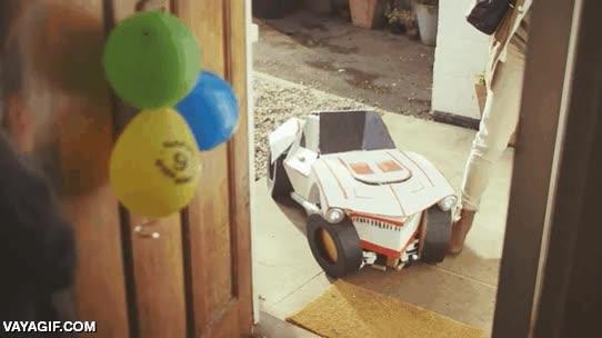 Enlace a Optimus Prime Jr. ha venido a la fiesta