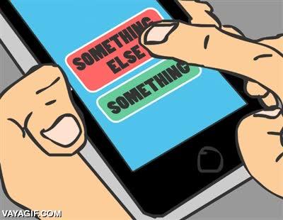 Enlace a El drama de las pantallas táctiles cuando navegas por Internet con el móvil