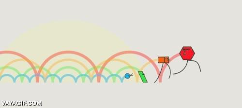 Enlace a Así se moverían los colores en base a su longitud de onda
