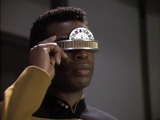 Enlace a Esto es lo que veía en realidad Geordie de Star Trek