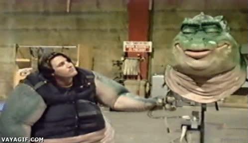 Enlace a ¿Cómo funcionaban los personajes de la serie Dinosaurios?