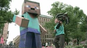 Enlace a El día que este niño conoció a Steve de Minecraft