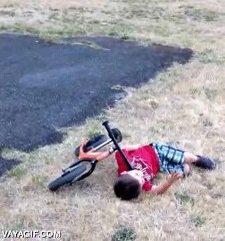 Enlace a Y de ahí le viene su trauma con las bicis a este niño