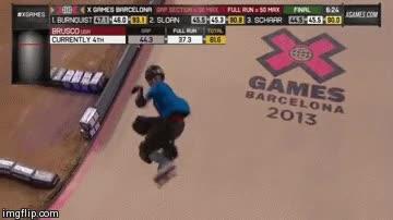 Enlace a El primer 1080º hecho en skate en competición oficial