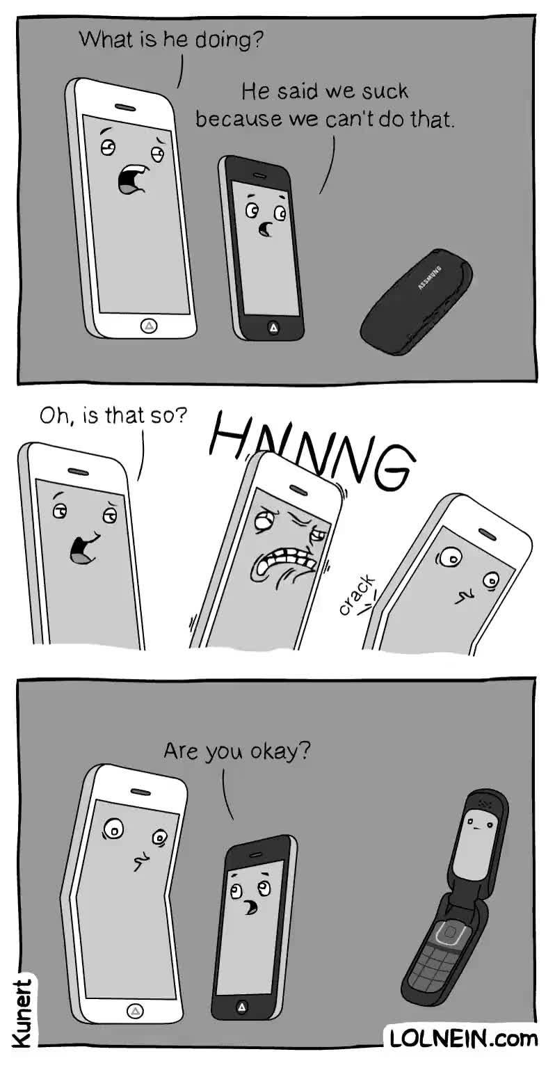 Enlace a Y así empezó todo el tema de los iPhone que se doblan