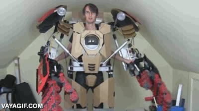 Enlace a Parece que alguien se está haciendo un cosplay sencillamente brutal
