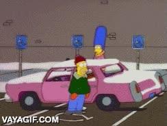 Enlace a Si no aparcas en la zona de minusválidos es porque no quieres, como nos enseñó Homer