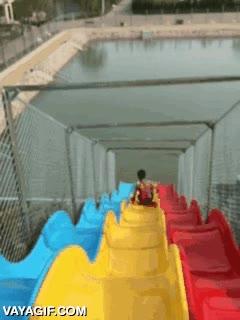 Enlace a Creo que si el parque acuático está cerrado, será por algo...