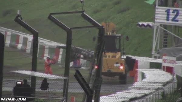 Enlace a Así fue el terrible accidente de Jules Bianchi en el GP de F1 de Japón