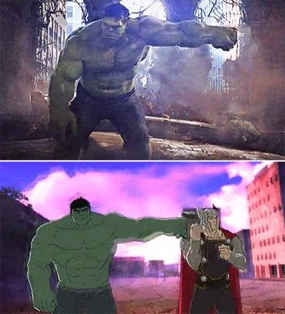 Enlace a ¡No esta vez, Hulk!