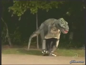 Enlace a Este perro lo hubiera pasado mal en el Jurásico...