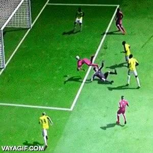 Enlace a Jugando al Pro y marcando el mejor y más raro gol de mi vida