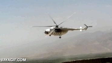 Enlace a Cuando grabas un helicóptero y sus aspas se sincronizan con la grabación de vídeo
