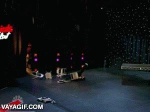 Enlace a Entrada triunfal al escenario