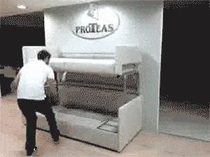 Enlace a ¿Un sofá-cama? Pudiendo tener un sofá-litera...